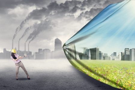 Renewable fuels waste gas treatment